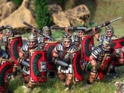Legionaries in Segmented Armour, Advancing, Gladius
