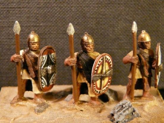 Celt Iberian Scutari Standing