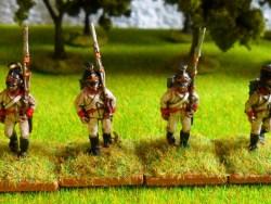German Fusiliers /Marching  ( Helmet )