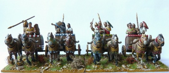 Hittite Light Chariots (3) & Crews