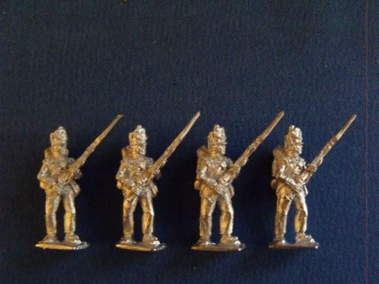 Flank Company at Porte