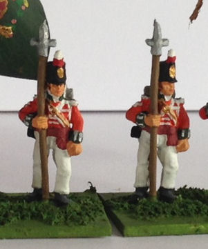 Colour Sergeant in Stovepipe Standing