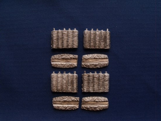 Interwoven Fence Section ( x 4 )