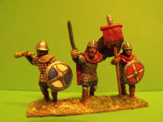 Carolingian Foot Command