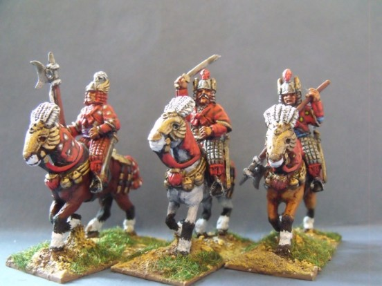 Sung Armoured Cavalry in Winged Helmets