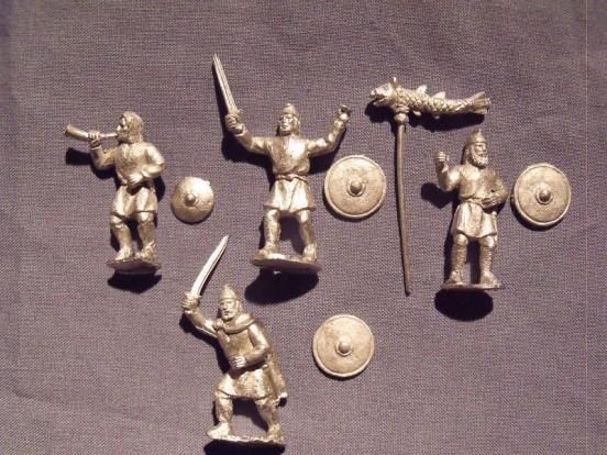 Saxon Command in Tunics