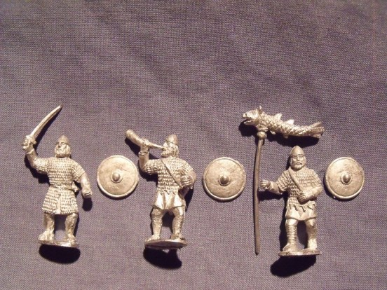 Saxon Command in Chainmail
