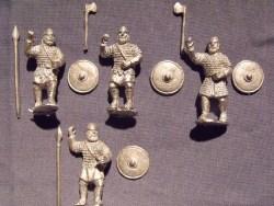 Saxon Swordsmen/Spearmen in Chainmail