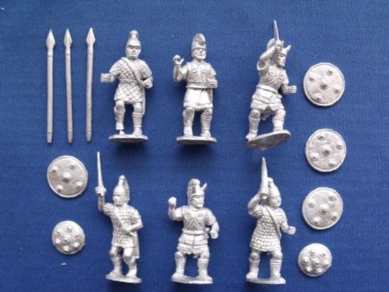 Mycenean/Trojan Armoured Warriors