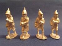 Burmese Regulars w/ Spears Advancing (4)