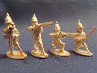 Burmese Regulars w/ Muskets Skirmishing (4)