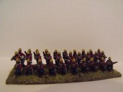 British Infantry