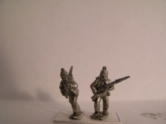 Fusiliers, Kleber Ordinance, Advancing