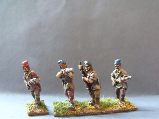 Coureurs de Bois Skirmishing