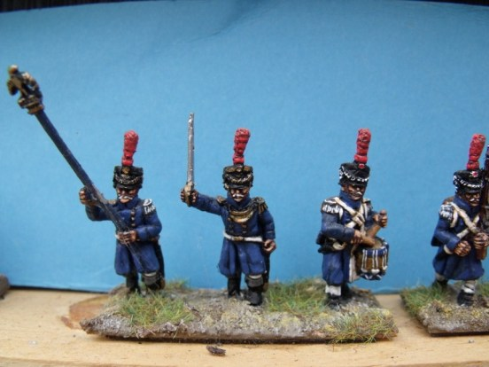 Middle Guard Command in Great Coat
