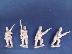 Gurkhas Advancing