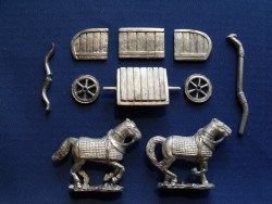 Chariot with 2 Heavy Horses