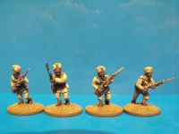 Sikh Sepoys Advancing