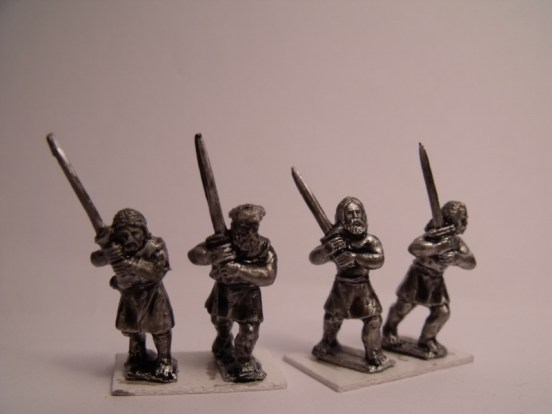 Highlanders with Claymores