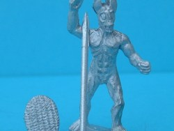 Marsh Marauders - Standing, Thrusting over arm with spear