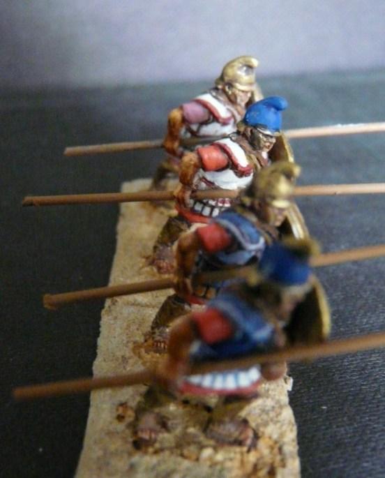Macedonian Pike-men, Pike Horizontal