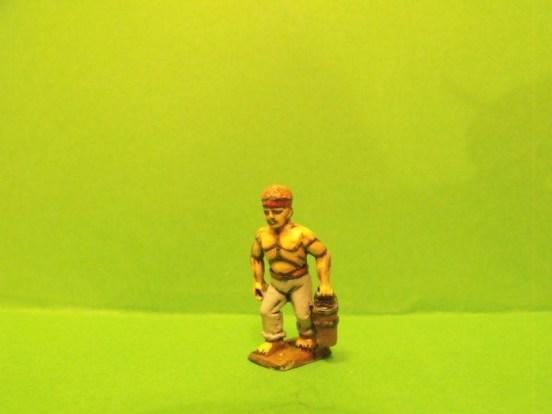 Ships Powder Monkey with bucket