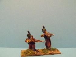 Cacadores Firing