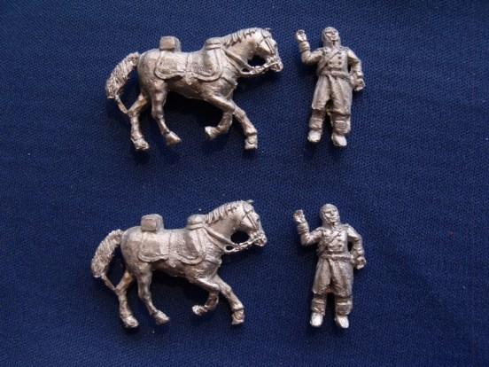 Dragoon/Cuirassier Casualties with Horse (3)