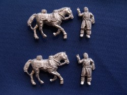Dragoon/Cuirassier Casualties with Horse (3)