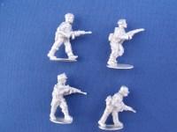Congo Mercenary Infantry with Rifle Advancing