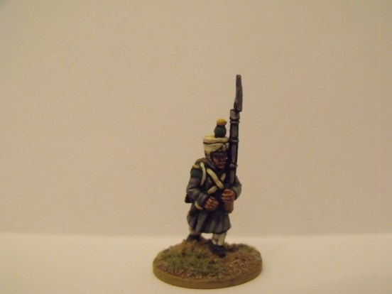 Grenadiers in Great Coat March Attack