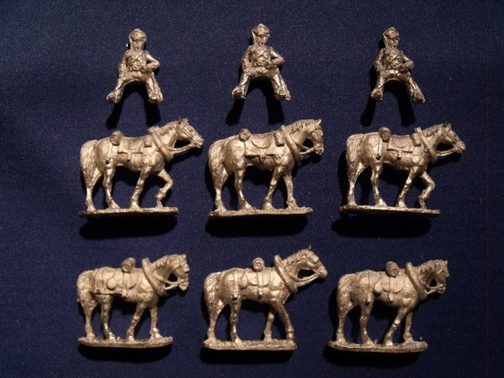 Horse Team (6) with Riders (3)