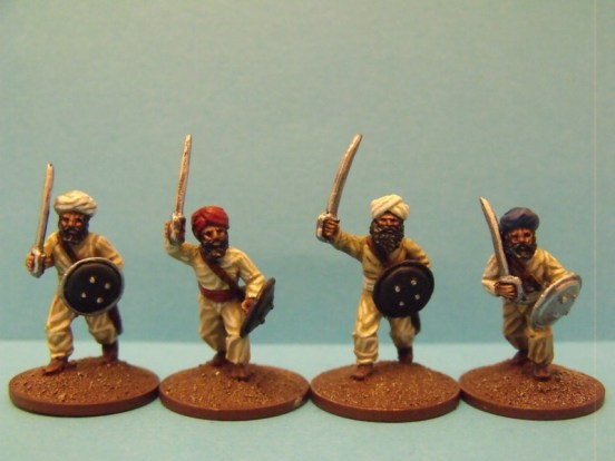 Sikh Irregular Infantry Advancing