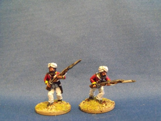 Sikh Regulars Advancing
