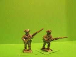 Musketeers Advancing