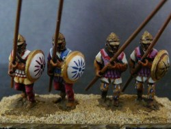 Seluecid Pikemen,, Pike 45 Degrees