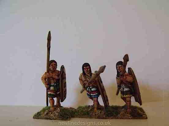 Minoan/Mycenean Pikemen Advancing