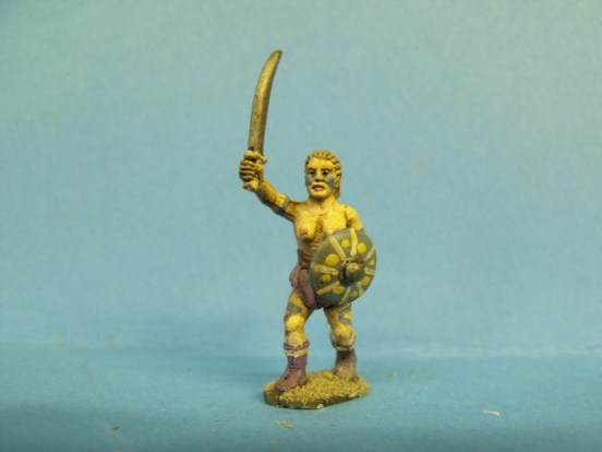 Witchcult Warrior - Advancing, Sword and Buckler