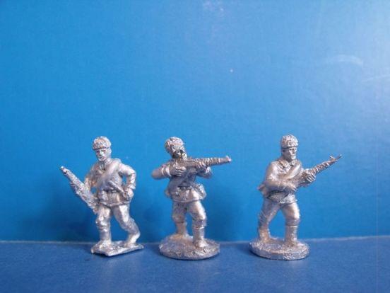 Russian Riflemen in Fur Caps II