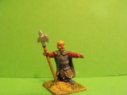Dwarf - Holding Halberd, Pointing
