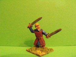 Dwarf - Standing, Two Swords