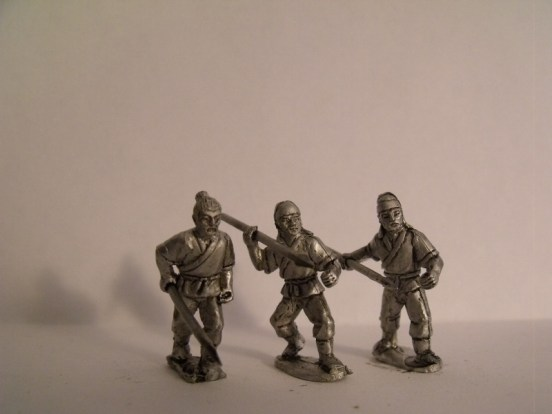 Javelinmen in Short Robes