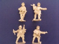 Infantry in Summer Dress - All Theaters IV