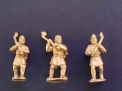 Viking Axemen in Tunics