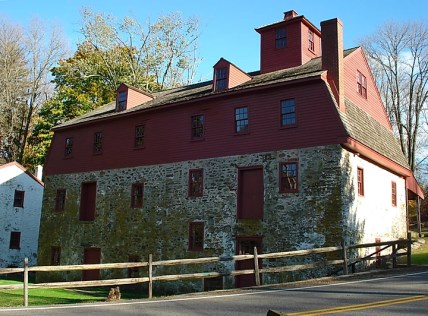 Nathaniel Newlin's Gristmill in Glen Mills, PA.