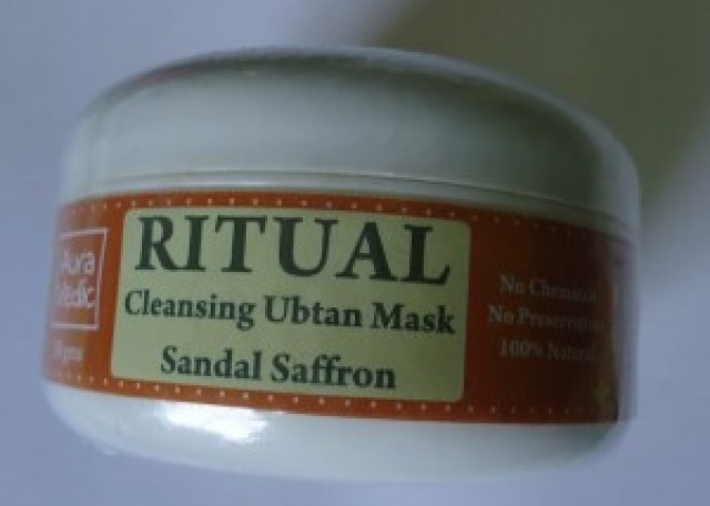 Auravedic Ritual Cleansing Ubtan Mask Review