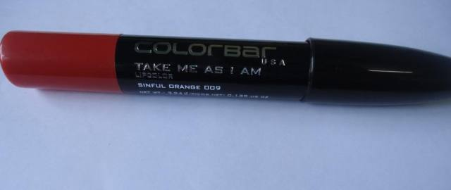 Colorbar Take Me As I Am Lip Color Sinful Orange Review, Swatches- MAC Morange Dupe