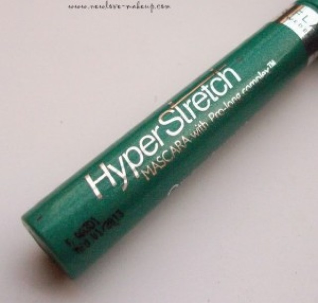 Oriflame Hyper Stretch Mascara Review and EOTD