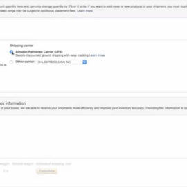 <center><b>{VIDEO} How To Create Shipments To Send Your Products To Amazon FBA</b></center>
