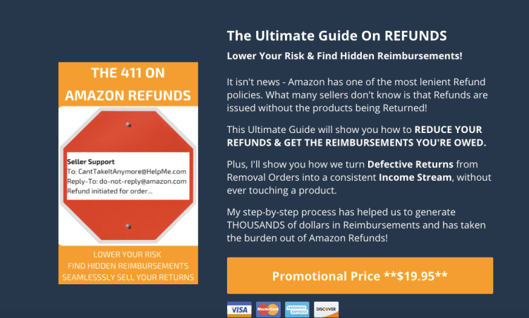 The 411 on amazon refunds